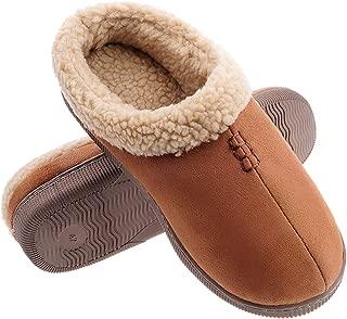 Men's Warm Indoor Outdoor Slippers