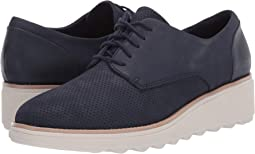 Navy Nubuck/Leather Combi