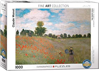 "Eurographics""Claude Monet The Poppy Field"" Pussel (1000, Flerfärgad)"