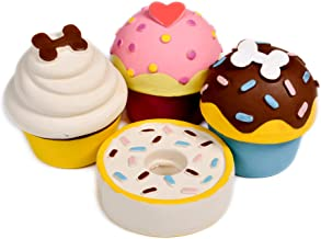 Petface Cup Cake Squeaky Dog Toy