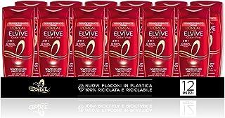 L'Oréal Paris Multi Pack Shampoo Color-Vive Protettivo 2 in 1 per Capelli Colorati o Meches, 300 ml, Confezione da 12