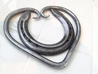 The Heritage Forge - Horseshoe Heart Trivet - Handmade