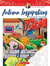 Creative Haven Autumn Inspirations Color by Number (Creative Haven Coloring Books) PDF