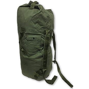 USGI MILITARY ARMY DUFFEL BAG NAVY MARINE SEA BAG OD GREEN VERY GOOD CONDITION