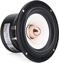 4 Inch Bullet Tweeter Full Range Speaker 4 Ohm, 5~15 Watt HiFi Tweeter Midrange Bass Integrated for Vocals Home Stereo Surround Sound Theater, 61Hz-18.5KHz Frequency Response 88dB