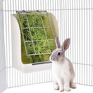KIOPS Comedero para Conejos, Cobaya,Animal Pequeño,