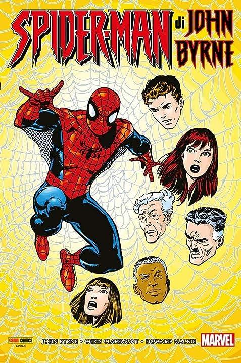 Spider-man di john byrne - marvel omnibus - panini comics - italiano (italiano) 978-8891279699