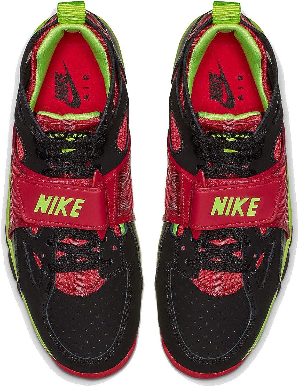 Nike Men's Air Trainer Huarache Black/Volt Red 679083-020
