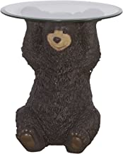 Powell Furniture Barney Bear, Dark Brown Accent Table
