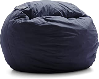 Big Joe Lenox Shredded Foam Bean Bag, Kid`s, Cobalt -