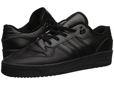 adidas Originals Rivalry Low (Core Black/Core Black/Footwear White) Men