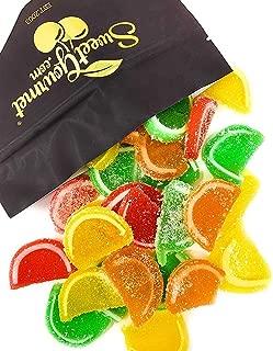 Boston Mini Assorted Fruit Jelly Slices   Bulk, Unwrapped   Kosher   Agar-Agar   (20 oz)