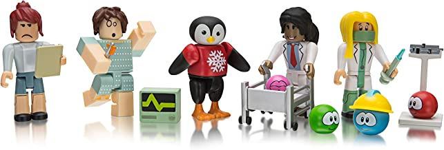 Roblox Celebrity Collection MeepCity: Meep Hospital Five Figure Pack