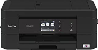 Brother Wireless All-in-One Inkjet Printer, MFC-J690DW, Multi-function Color Printer, Duplex Printing, Mobile Printing, Amazon Dash Replenishment Enabled