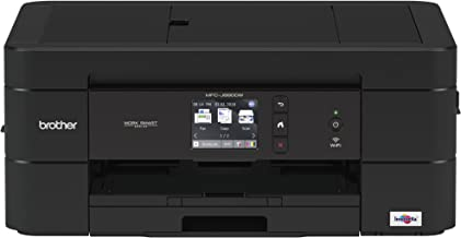 Brother Wireless All-in-One Inkjet Printer, MFC-J690DW, Multi-function Color Printer, Duplex Printing, Mobile Printing, Am...