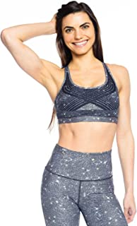 Wear it to Heart Eclipse Strappy Vent Bra Womens Active Workout Bra