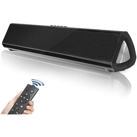 Fityou Innovationsversion Soundbar Tv 5 0 Bluetooth Lautsprecher Soundbar Bluetooth Heimkino Surround Sound Für Fernseher Pc Mobilgeräte Leistungsstarken Sound Mit Fernbedienung Audio Hifi