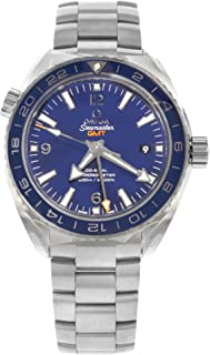 Omega Seamaster Planet Ocean GMT Automatic Blue Dial Titanium Men's Watch 232.90.44.22.03.001