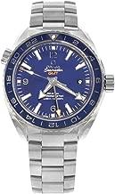 Omega Seamaster Planet Ocean GMT Automatic Blue Dial Titanium Men's Watch 232.90.44.22.03.001
