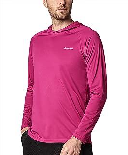 Ogeenier Men's Long Sleeve Shirts,Running UPF50+ UV Sun Protection Athletic Surfing Tourism Camping Walking T-Shirt
