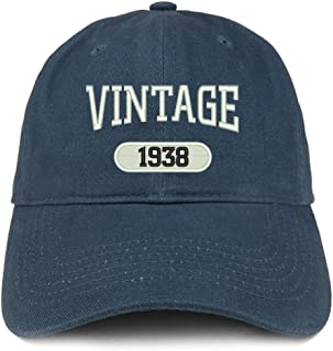 Vintage 1938 Embroidered 81st Birthday Relaxed Fitting Cotton Cap