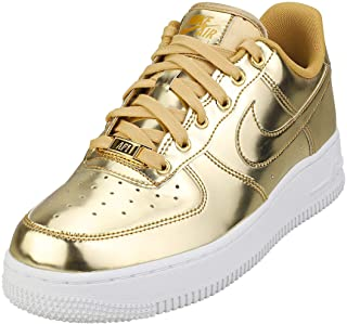 Nike Air Force 1 SP Sneakers Metallic Gold/Club Gold-White EUR 38