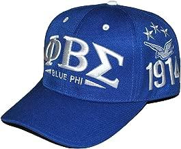 Phi Beta Sigma Fraternity Mens New Adjustable Cap Blue
