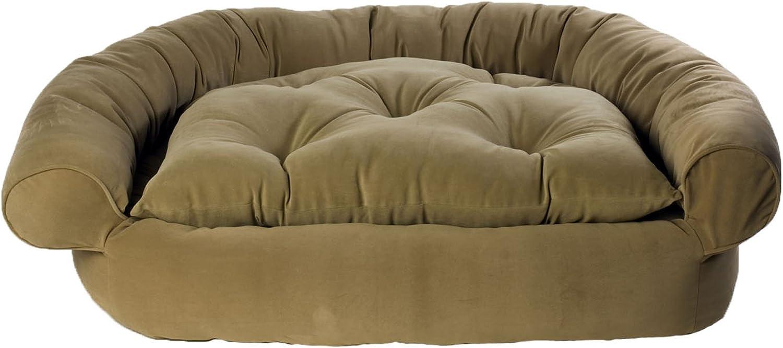 CPC Faux Suede Medium Comfort Couch, Sage