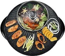Draagbare elektrische kookmachine voor thuisgebrui Geïntegreerde Cooker Pot, Elektrische Hot Pot elektrische barbecue Elek...