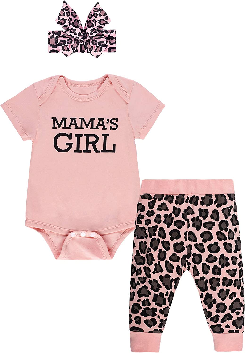 Direct store Infant Baby Girls Clothes Mommy Summer Super beauty product restock quality top Outfit Set Sayings Bodysu