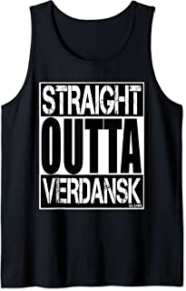 Straight outta Verdansk funny ego shooter Gaming Camiseta sin Mangas
