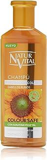 NATUR VITAL champú protección cabellos rubios bote 300 ml
