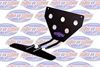 2016-2019 Camaro with factory ground effects Sto-N-Sho Removable Take Off Front License Plate Frame Bracket