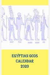 Egyptian Gods Calendar 2020 Kindle Edition