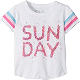 Super Soft Vintage Jersey Sunday Tee (Toddler/Little Kids)