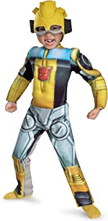 Bumblebee Rescue Bot Muscle Kids Costume