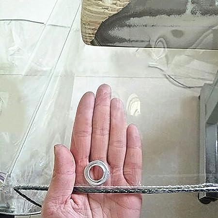 lona impermeable Lona Transparente Con Ojales, Cubierta De ...