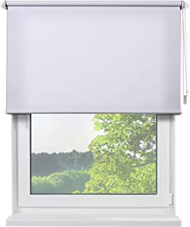 Fertig Sichtschutzrollo Rollos Fur Fenster Rollo Farbe Weiss Zum Bohren Und Schrauben