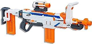 NERF Modulus - Regulator Blaster inc Short & Long Scope, Storage Stock & 24 Darts - Kids Toys & Outdoor games - Ages 8+
