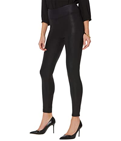 NYDJ Coated Leggings (Black) Women