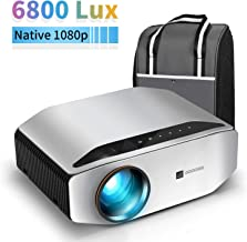 """GooDee YG620 Native 1080p Projector 6800 Lux 300"""" Full HD LCD Video Projector.."""