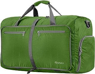 Gonex 60L Foldable Travel Duffel Bag Water & Tear Resistant, Green