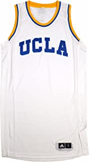 adidas UCLA Bruins NCAA White Authentic On-Court Pro Cut Home Jersey for Men