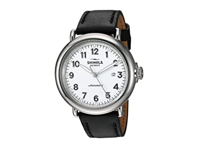Shinola Detroit Runwell Automatic 20141491 (White Glossy Enamel Dial) Watches