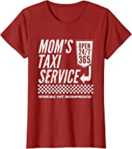 Womens Mom's Taxi Service Funny T-Shirt for Women