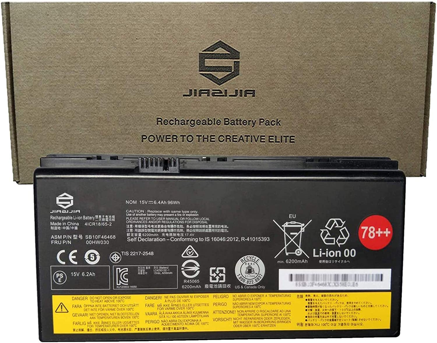 JIAZIJIA Max 47% OFF 00HW030 Laptop Battery Replacement Max 59% OFF Lenovo ThinkPad for