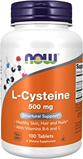 Now Foods, L-cysteine, 500 Mg, 100 Tablets