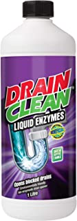 Drain Clean Liquid Enzyme Cleaner, 1 liters