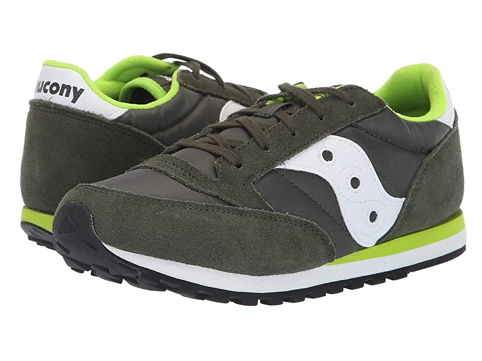 Saucony Kids Originals Jazz Original (Little Kid/Big Kid) (Green/White) Boys Shoes