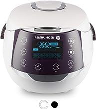 Reishunger Digitale rijstkoker (1.5l/860W/220V) Multicooker met 12 programma's, 7-fasen-technologie, premium binnenpan, ti...